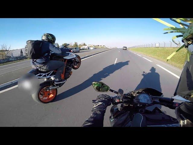 Wheeling en KTM 1290 Super Duke ☆ Mercredi Détente