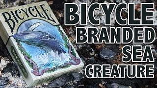 Deck Review - Bicycle Branded Colorized Sea Creature Playing Cards [HD]