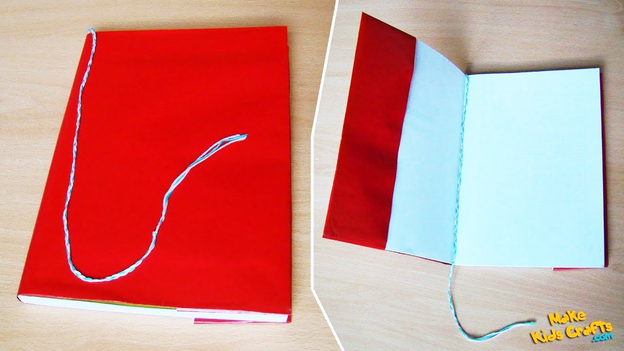 How To Make Book Cover Diy ~ How to make a book cover diy youtube