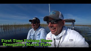 Largemouth Bass Fishing Everglades Holiday Flats for the First Time
