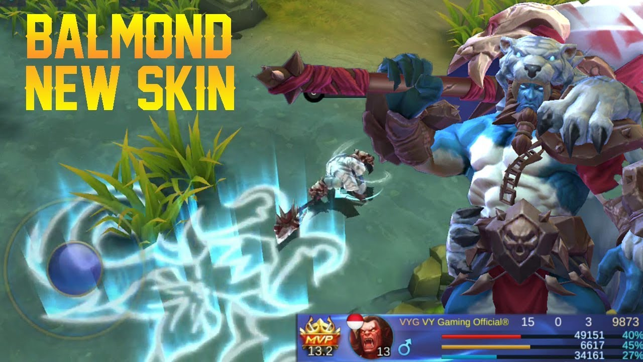 BALMOND NEW SKIN Bestial Might or Barbaric Might Gameplay  New