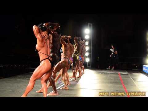 2015 NPC Nationals Women's Bodybuilding Video Clips