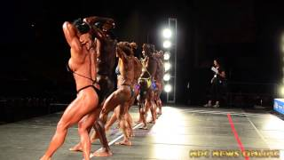 2015 NPC Nationals Women's Bodybuilding Video Clips