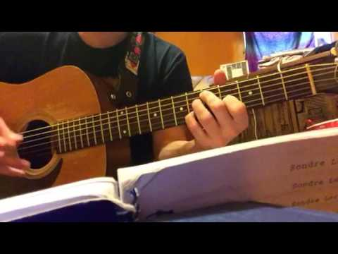 Days That Are Over by Sondre Lerche covered by Nathan Parent solo acoustic
