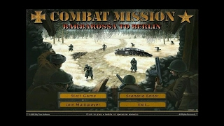 Combat Mission 2: Barbarossa to Berlin gameplay (PC Game, 2002)