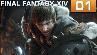 Final Fantasy XIV #01 - O início da aventura [PC] [PT-BR]