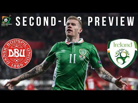 Republic of Ireland vs Denmark 2nd Leg Preview