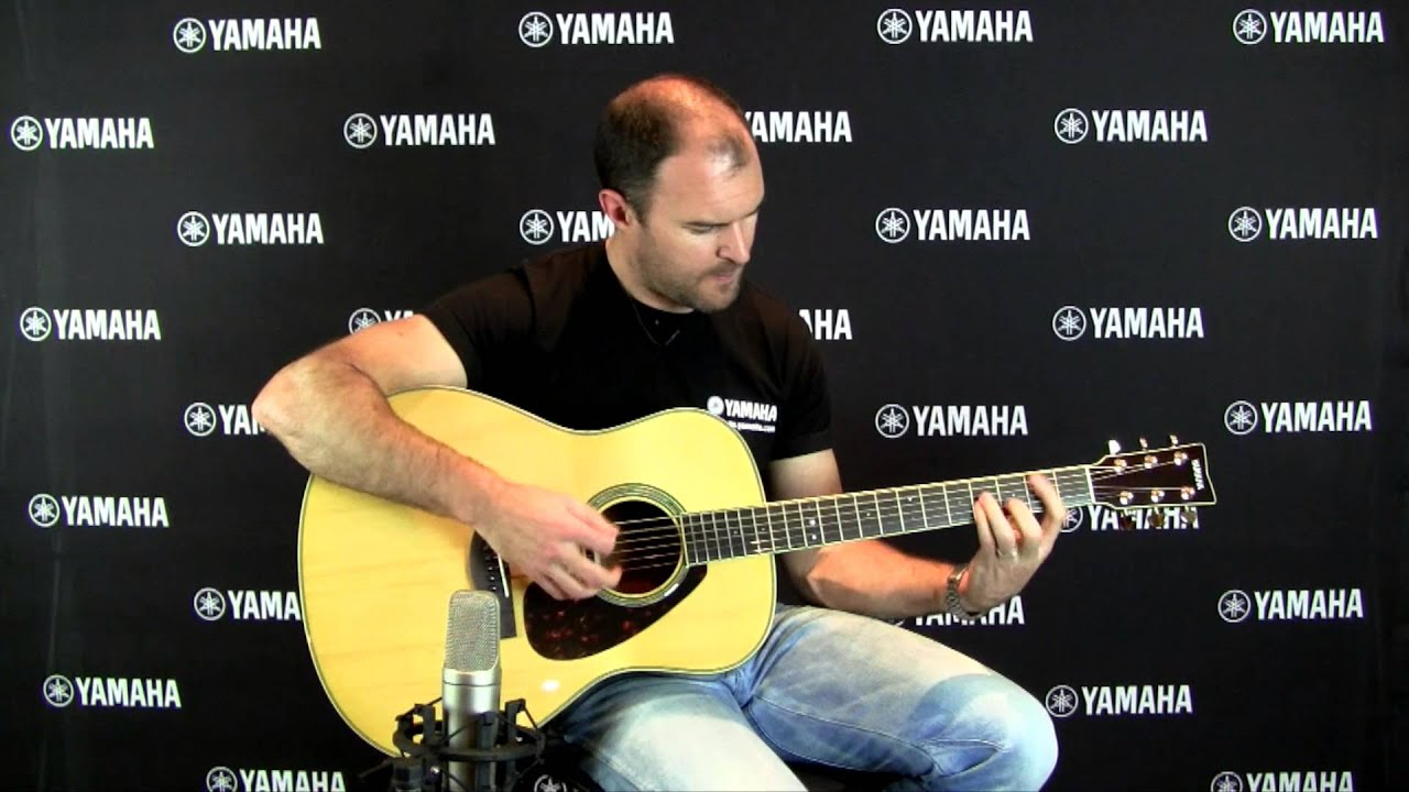 yamaha ll6 are acoustic guitar youtube. Black Bedroom Furniture Sets. Home Design Ideas