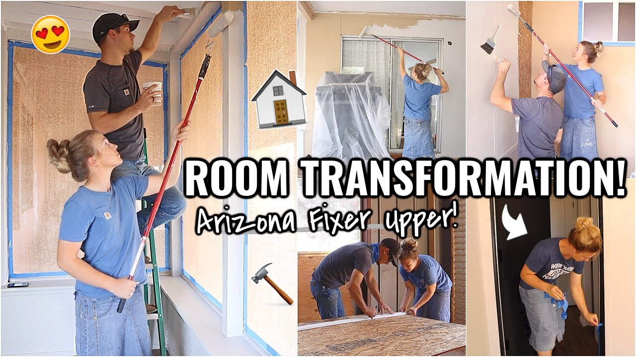 EXTREME ROOM TRANSFORMATION!!🏠 (part 1) RENOVATION HOUSE PROJECTS AND UPDATES