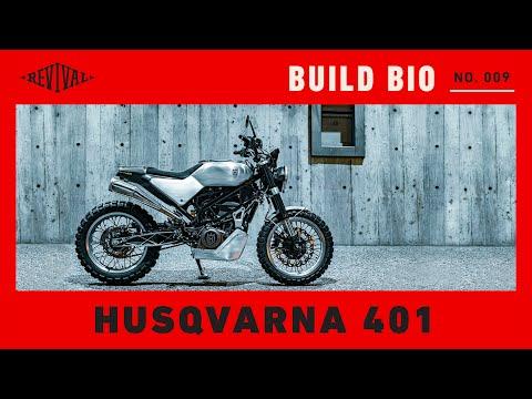 Husqvarna Svartpilen Custom // Revival Build Bio No. 09