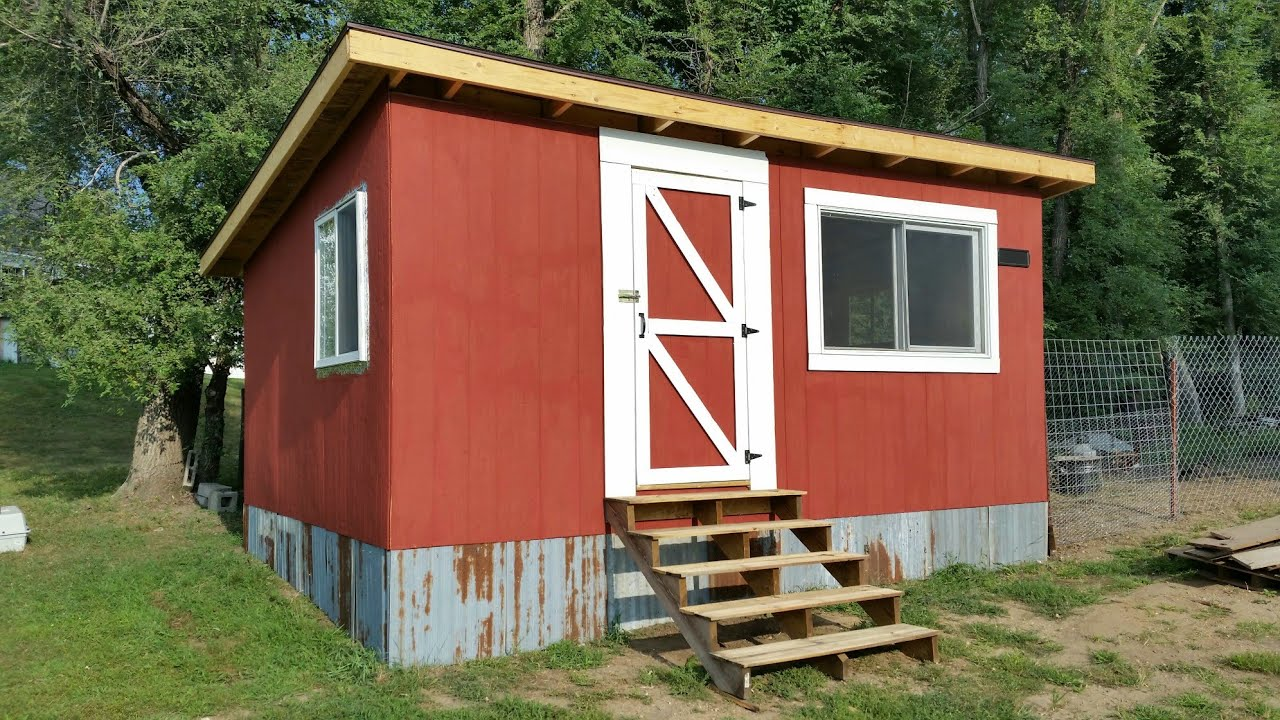 How To Make A Pallet Shed