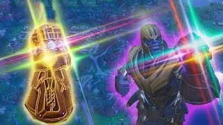 SO spielt man den neuen INFINITY HANDSCHUH! | (Thanos Tricks) | Fortnite Battle Royale