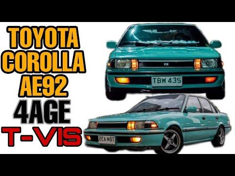 Download Toyota Corolla AE92 (4AGE T-VIS)   OtoCulture