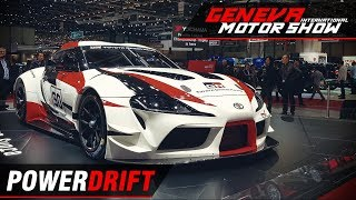 Toyota GR Supra - The legend is back, almost : Geneva Motor Show 2018: PowerDrift