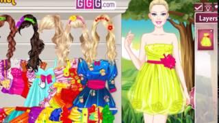 Переодевание в зачарованную принцессу - игра для девочек