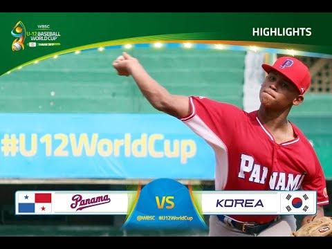 Highlights: Panama v Korea - U-12 Baseball World Cup 2017