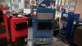 Твердотопливный котел Wichlacz GK-1 38 кВт Польша ( 2-3 суток горение) Вихлач.(, 2013-11-29T16:23:38.000Z)