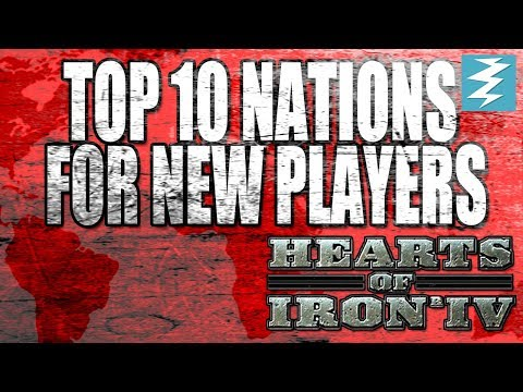 Top 10 Nations For New Players In Hearts of Iron 4 (HOI4)