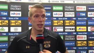Video Gol Pertandingan Udinese vs AZ Alkmaar