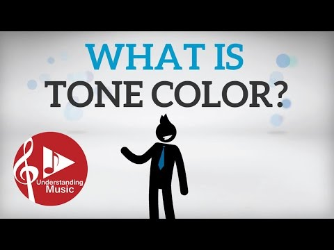 What is Tone Color? Timbre
