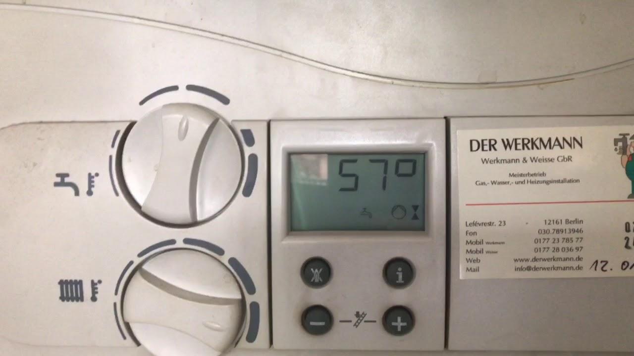 Popular Vaillant VCW 194/3 ab und zu kein Warmwasser - YouTube TS53