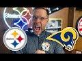 Pittsburgh Dad Reacts to Steelers vs Rams (Week 10)