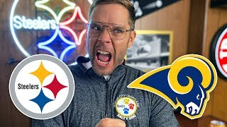 Pittsburgh Dad Reacts to Steelers vs Rams (Week 10)