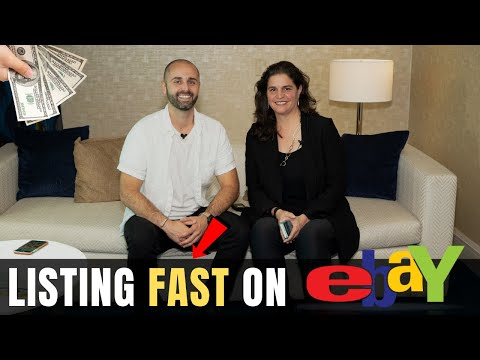 How to List Items on eBay SUPER FAST! (40+ Items/Hour)