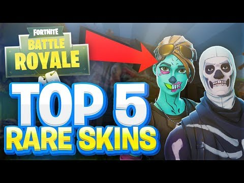 TOP 5 MOST RARE SKINS NOBODY HAS - FORTNITE BATTLE ROYALE