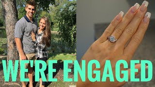 WE ARE ENGAGED!!!
