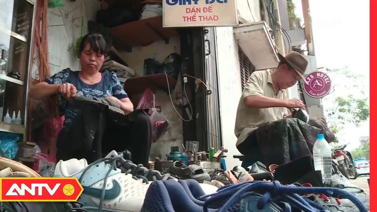 """""""Phẫu thuật thẩm mỹ"""" cho giày, dép giữa lòng Hà Nội   MNMN   ANTV"""