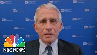 Dr. Fauci Speaks On CDC's New Indoor Mask Guidance