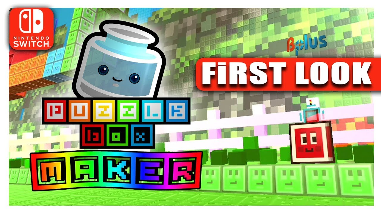 Puzzle Box MAKER (Nintendo Switch) | World Exclusive First Look ...