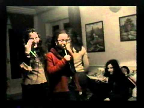 ITALIAN KARAOKE TIME OUR HOUSE IN VILLA DI BRIANO, NAPLES, ITALY VIDEO 4