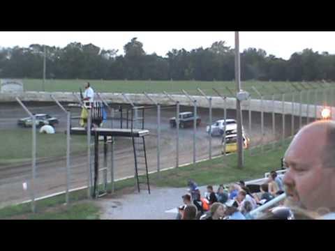 Factory Stock Heat Race Humboldt Speedway 7-28-17