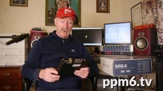 PPM6TV MOTU M64 AVB MADI USB Interface review