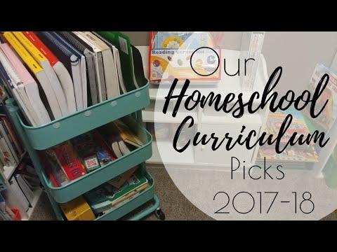 Our Homeschool Curriculum 2017-18 | Homeschooling
