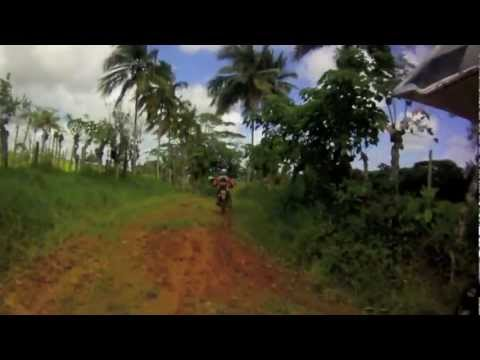 Dual Sport motorcycle riding in the sunny Caribbean!