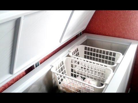 Морозильный Ларь на  420литров. Обзор