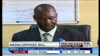 Media practitioners propose amendments to the security laws amendment bill