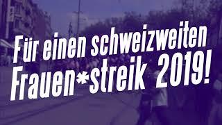 Für einen schweizweiten Frauen*streik 2019!