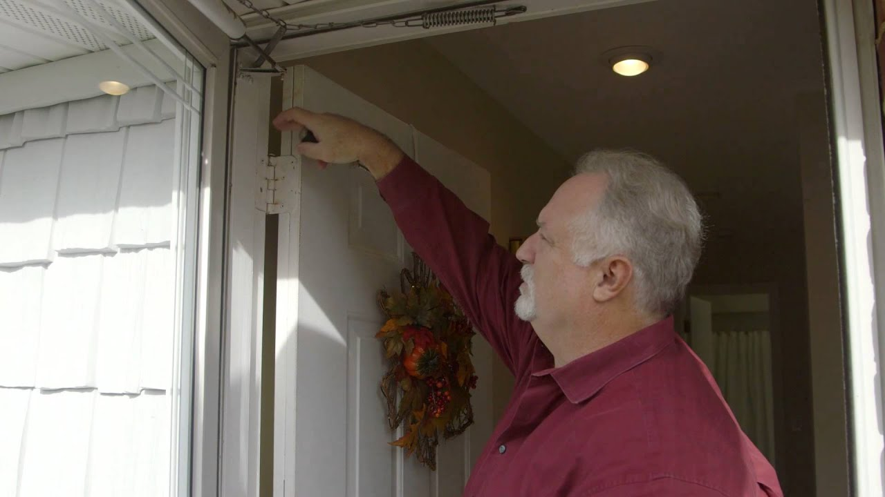 How To Adjust Your Front Door In 60 Seconds  sc 1 st  YouTube : adjust door - pezcame.com