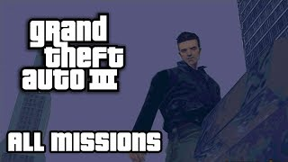 GTA 3 - All Missions Walkthrough (1080p 60fps)