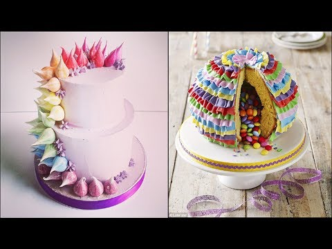 Top 15 Most Satisfying Cake Style Video - Cake Style 2017 -Amazing Cakes Decorating Techniques 2017
