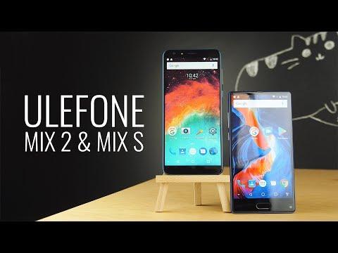 Ulefone Mix S и Mix 2.  Безрамочники до 150$
