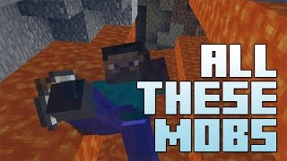 ♫ Porotypes - All These Mobs (Uptown Funk by Mark Ronson ft. Bruno Mars) Minecraft Parody