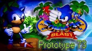 Sonic 3D Blast (Prototype 73) - Walkthrough