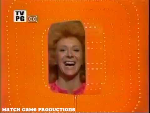 Match Game 74 (Episode 191) (Rosey Grier Guest Appearance) (With Slate)