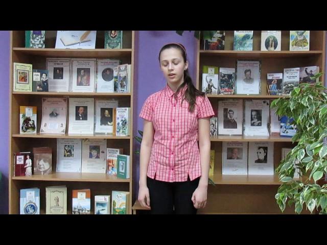 Изображение предпросмотра прочтения – СофьяСоловьева читает произведение «Тучи» М.Ю.Лермонтова