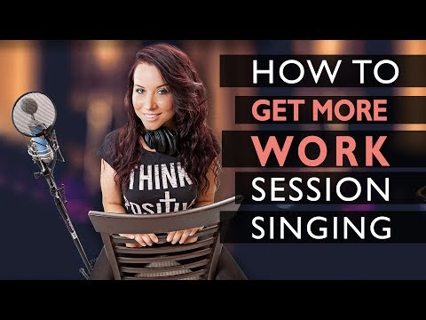 How To Get More Work Session Singing (5 Tips)